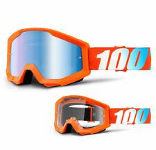 202 100 /% Prozent Brille Strata Outlaw Schwarz Motocross Enduro Downhill Cross