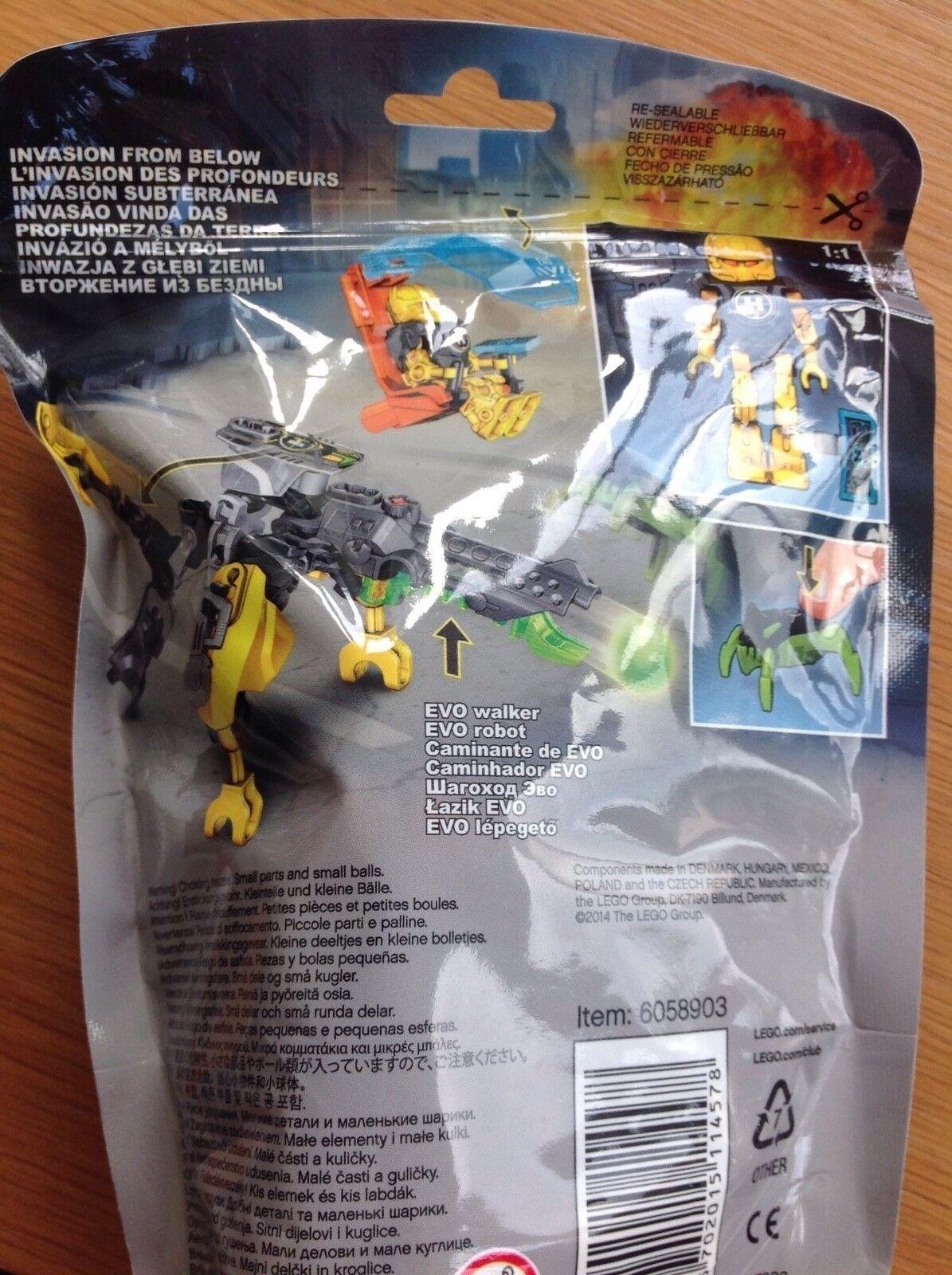 NEW LEGO 44015 Hero Factory Evo Walker Robot Invasion Invasion Invasion from Below e72227