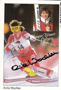 Anita Wachter: Olympia Silber Kombination 1988+1992 Ski Alpin AUT - SW-Niedersachsen, Deutschland - Anita Wachter: Olympia Silber Kombination 1988+1992 Ski Alpin AUT - SW-Niedersachsen, Deutschland