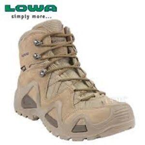 LOWA Zephyr Mittel- GTX Gore Tex Wüste All Sizes 41-46