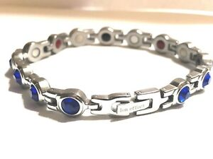 Image Is Loading Authentic Negative Ion Effect Bracelet Women 039 S