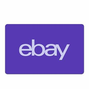 eBay Digital Gift Card - $5 to $200 - Email Delivery