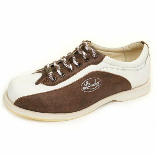 Linds Men's CPS MENS BROWN WHITE LH ONLY  Bowling shoes size  15    NEW IN BOX