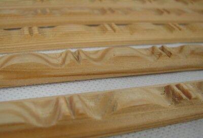 Neuware Schrank handgedrechselt Holzzierteile Kiefer massiv Holzverzierung