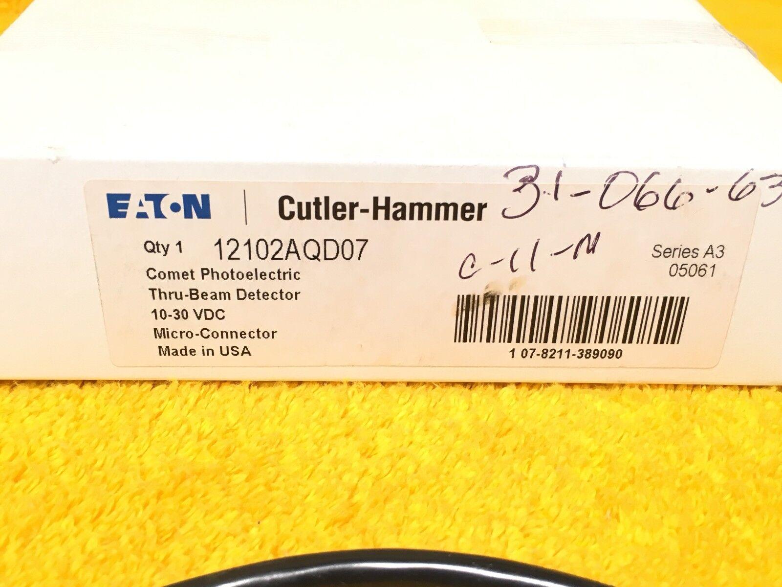 EATON CUTLER-HAMMER 12100RQD07 PHOTOELECTRIC SENSORS QTY 1 NEW IN BOX