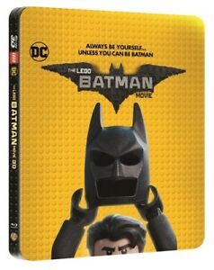 THE-LEGO-BATMAN-MOVIE-LIMITED-EDITION-STEELBOOK-BLURAY-DVD-IN-3D-amp-2D-RARE
