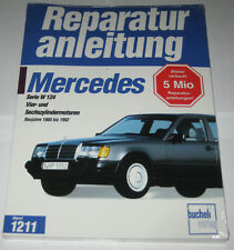 Reparaturanleitung Mercedes W124 200 230 260 300 E TE CE, Baujahre 1985 - 1992
