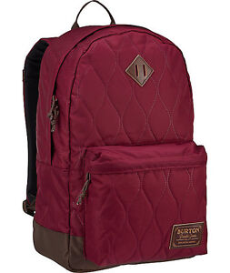 9da123a776 Details about Burton Kettle Pack Quilted Zinfandel women's school bag  backpack new $75