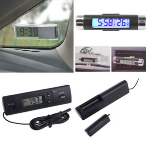 Digital-LED-Auto-Car-In-Outdoor-Thermometer-W-Sensor-Temperature-LCD-Display