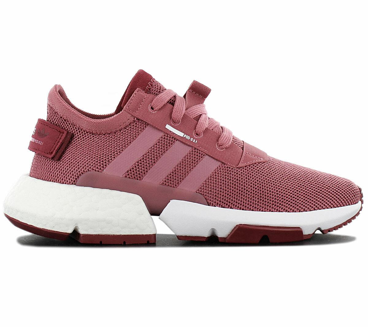 Adidas Originals POD-S3.1 Boost Damen Turnschuhe B37447 Rot Schuhe Sportschuhe NEU