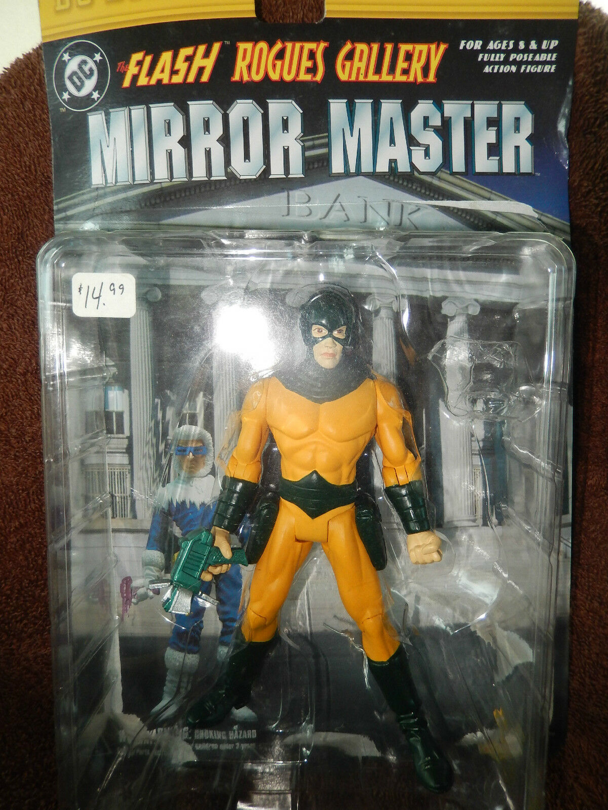 DC Direct  Flash Rogues Gallery Mirror Master