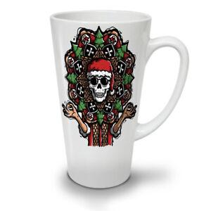 Dead Santa Skull NEW White Tea Coffee Latte Mug 12 17 oz | Wellcoda