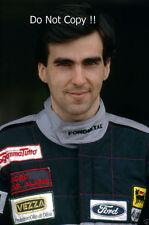 Andrea Chiesa Fondmetal F1 Portrait 1992 Photograph