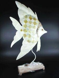 Amical Poisson Scalaire Tierfigur Métal, Dekofigur, Aquarium, 54 Cm, Fish Personnage, Neuf-ur,aquarium,54 Cm,fish Figur,neu Fr-fr Afficher Le Titre D'origine