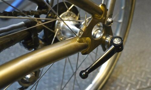 Ti Parts Workshop Titanium Rear Hub Quick Release for Brompton Bicycle