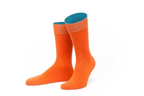 De jungfeld Chaussettes messieurs Chaussette thrace automne orange