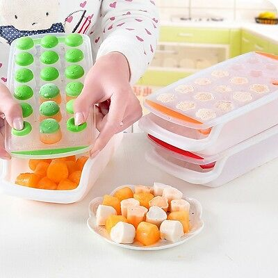 21 Grids Silicone Ice Ball Cube Tray Mould Bar Pudding Jelly Chocolate Mold Make