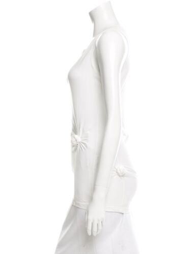 Helmut Lang Vintage Archival White Knot Detail Tan