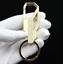 Karabiner als Schlüsselanhänger mit massiven Schlüsselring für Schlüsselbund Neu