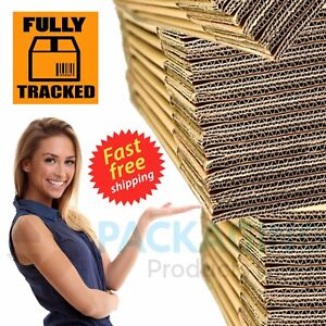 STRONG SINGLE & DOUBLE WALL CARDBOARD BOXES - POSTAL REMOVAL MOVING - QUALITY