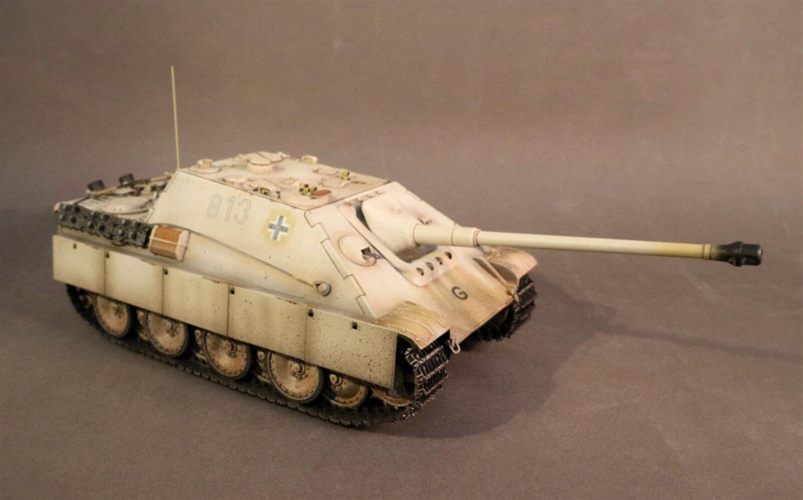 John Jenkins WW2 Tedesco GA-02  813  Jagdpanther Ausf. G2 Serbatoio Set Inverno