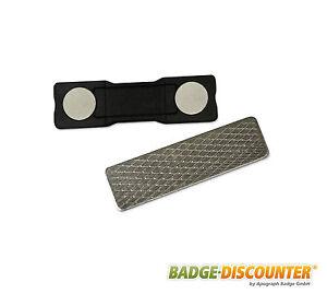 Set-Doppel-Magnete-extra-stark-einschl-Metallplaettchen-Klebeflaeche-3M-Neodym