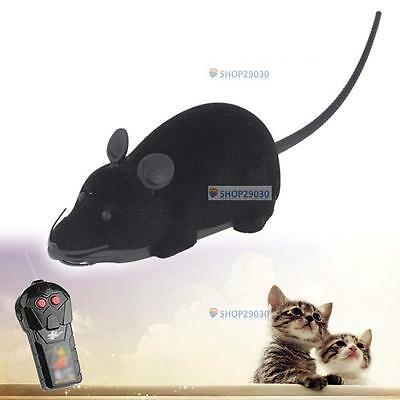 Pet Wireless Remote Control Rat Mouse Toy Moving Mouse For Cat Playing Chew A SP