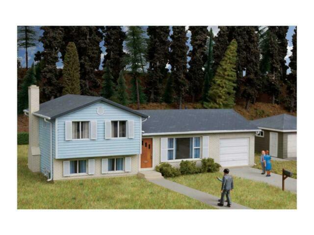 3794 Walthers Cornerstone Split Level House Kit Ho Scale For Sale Online Ebay