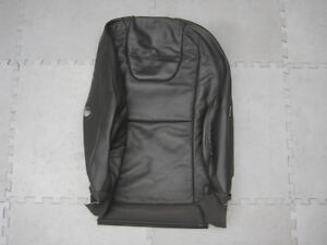 GENUINE-VOLVO-XC60-V60-S60-FRONT-LH-SEAT-BACK-BLACK-LEATHER-UPHOLSTERY-6815721