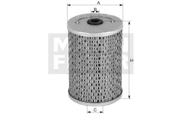 MANN-FILTER Filtro combustible LAMBORGHINI ESPADA JARAMA MIURA P 715
