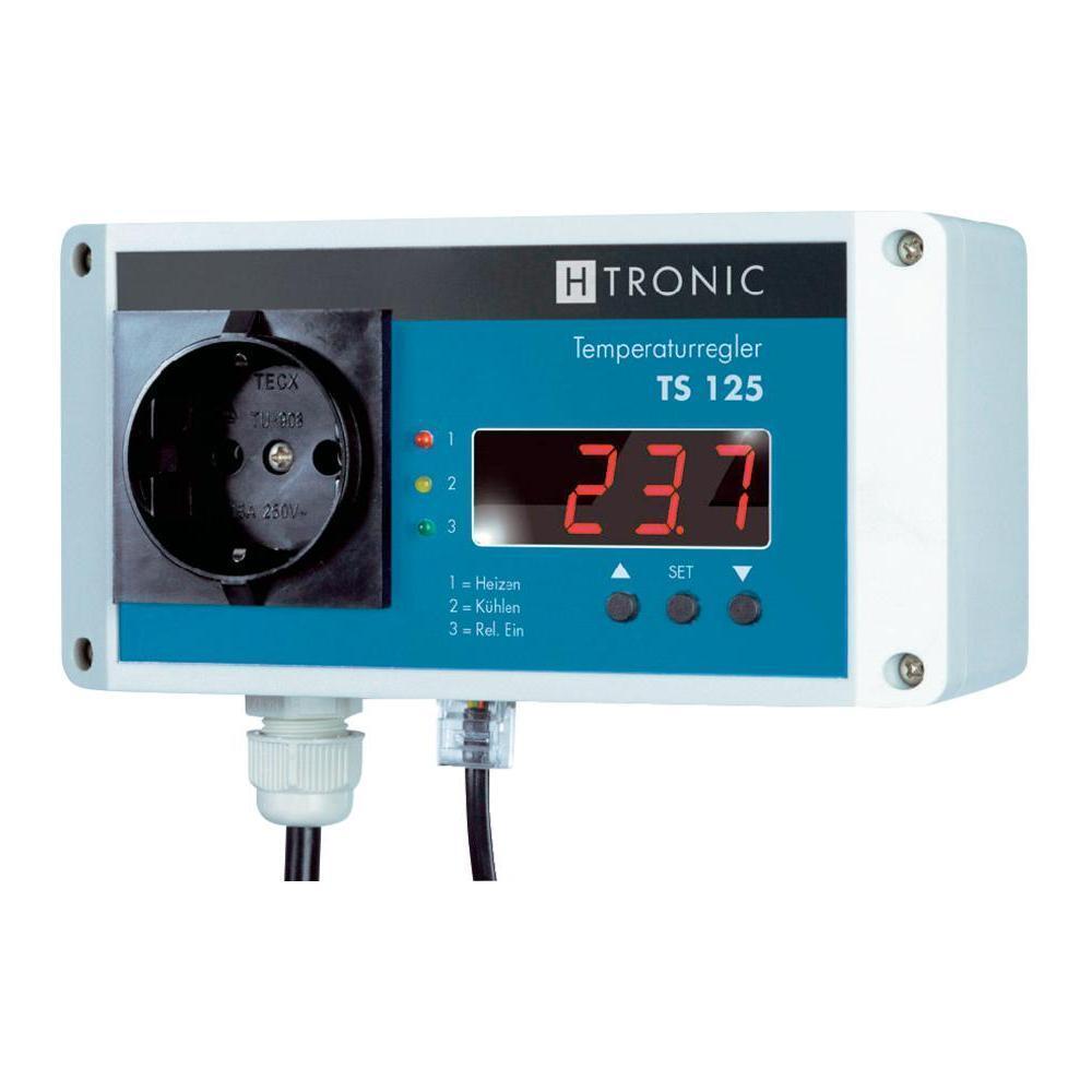 REGOLATORE di temperatura H-Tronic ts125 e ts2, visualizzazione digitale, gradi stretto controllo