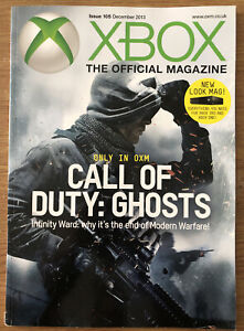 XBOX The Official Magazine Issue 105 December 2013 Call Of Duty: Ghosts