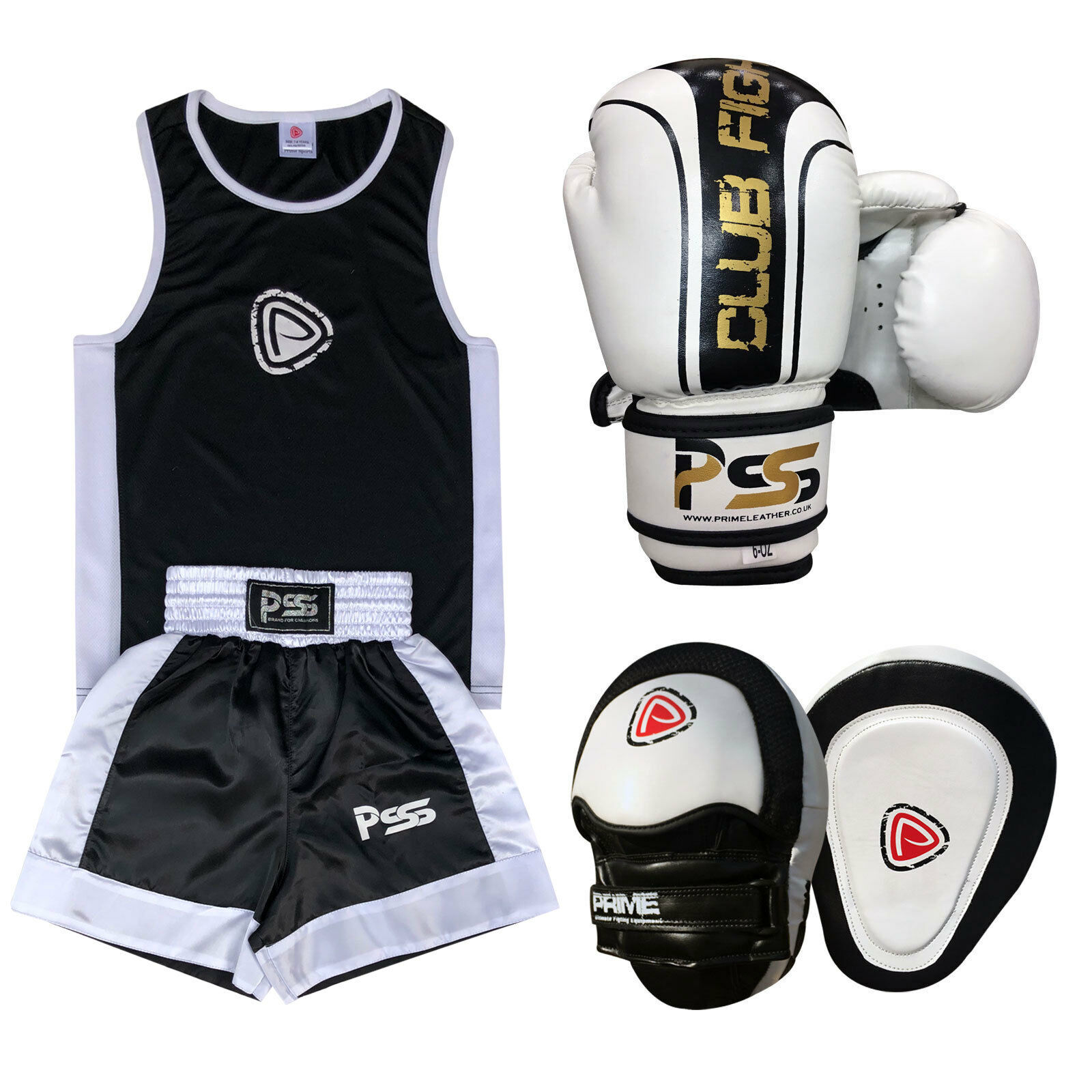 Kids Boxing Uniform Set Pads 3 PCS Uniform Boxing Gloves 1006 Focus Pads Set 1102 Set-19 b6743e