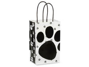 Pooch-039-s-Paws-Paper-Shopping-Gift-Bags-Set-of-2