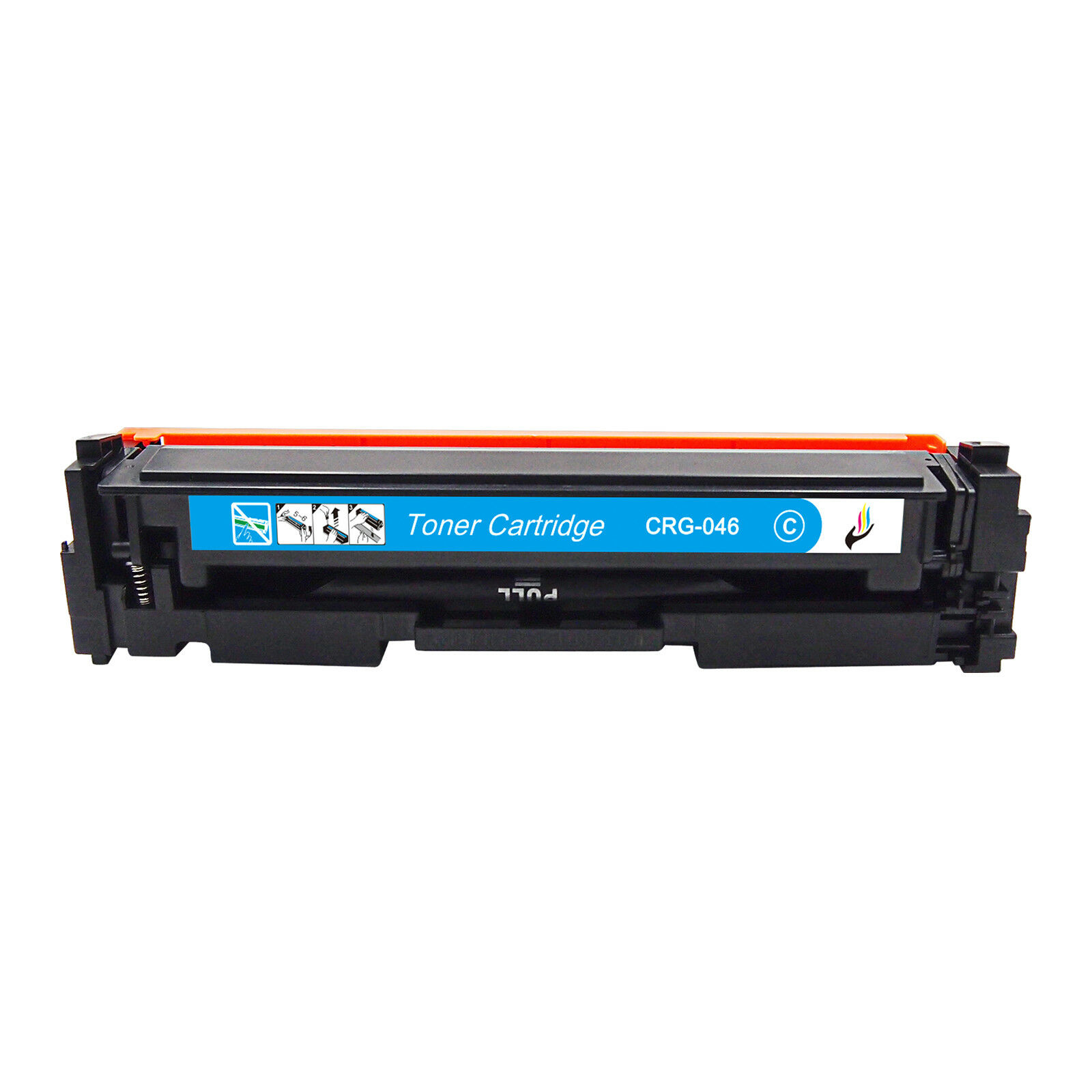 InkFenm Compatible Toner Cartridges Replacement for Canon CRG-046 Toner Cartridge for Canon I-SENSYS MF732CDW MF734CDW MF735CX LBP653CDW LBP654CX LBP653 LBP654 Toner,4 Colors