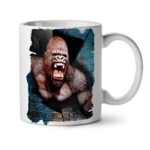 Monkey Monkey Animal NEW White Tea Coffee Mug 11 oz | Wellcoda