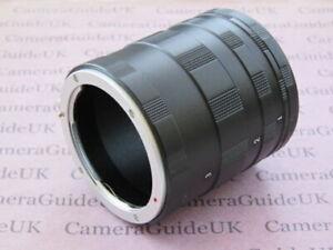 Macro-Extension-Tube-OM-For-Olympus-E-620-E-600-E-510-E-500-E-450-Camera