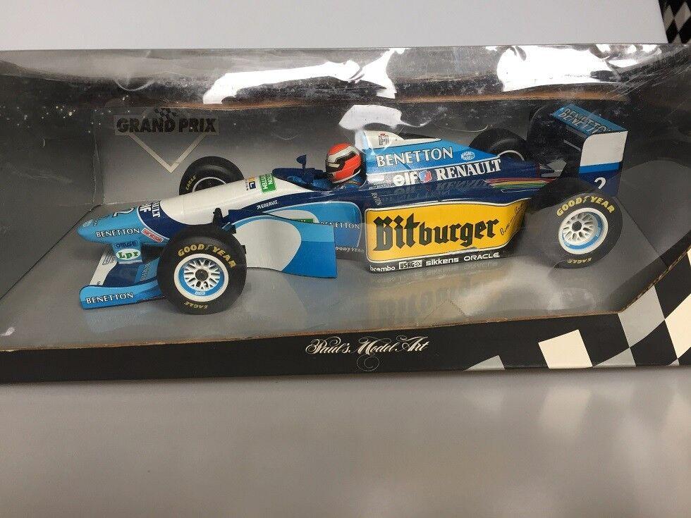 1 18 Minichamps Benetton B194 5 Showcar 1995 J.Herbert
