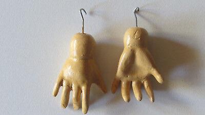 """Mains standard pour  poupées anciennes/"""" STA 13/"""" Antique doll hands Standard"""
