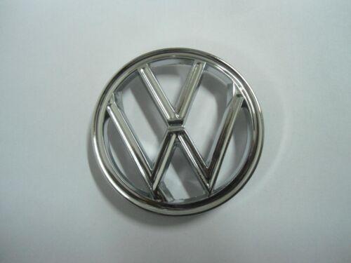 VW BEETLE BUG EMBLEM VINTAGE FRONT HOOD Round 1960-79 T1 113-853-601B 3/'/' 7.6cm