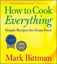 How To Cook Everything: Simple Recipes for Great Food, Mark Bittman, Acceptable