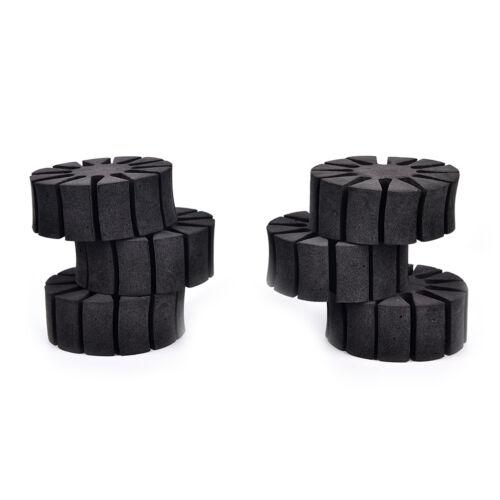 6Pcs Bogenschießen Schaum runder Rack Pfeilhalter 12 Pfeile separatorDDEWZW1B
