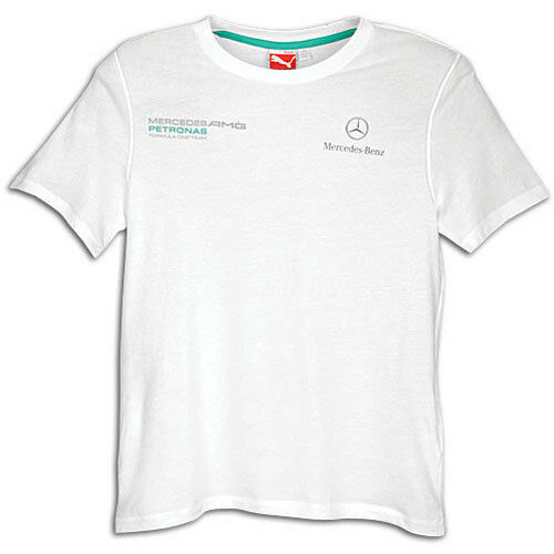 542060be852 PUMA MERCEDES AMG Petronas Logo T-shirt White Men's 2xl Fast for sale  online | eBay