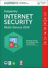Kaspersky Internet Security 2016 Multi Device 3 User