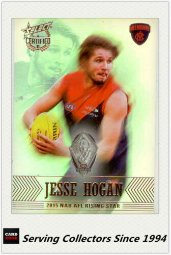 2016 Select AFL Certified Medal Winners Card MW4 Jesse HoganRising Star Melb
