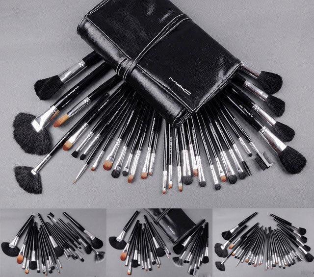 12/15/18/19/24/32 PCS Set Professional Make up Brush Set Eyeshadow Powder Tool
