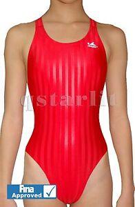 FINA Yingfa Girls Women Female Endurance Performance Competition Race  Swimsuit | eBay