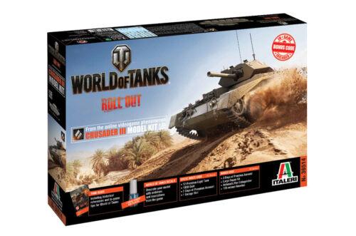 Italeri 36514-1//35 World Of Tanks Crusader III Neu