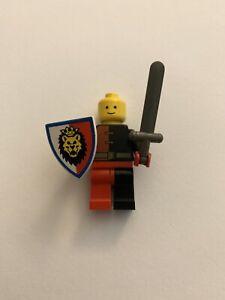LEGO 3846p4d @@ Shield Lion Head Red /& White Pattern 6044 6046 6078 6090