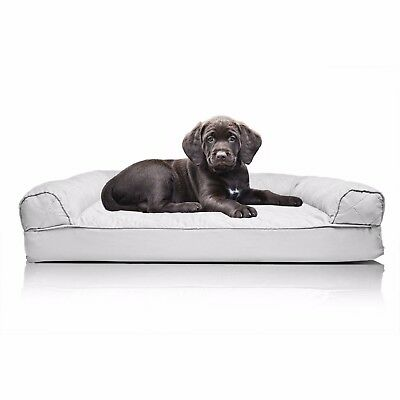 Prime Pawmate Sofa Style Pillow Pet Bed Dog Couch Silver Gray Size M Msrp 89 99 Ebay Bralicious Painted Fabric Chair Ideas Braliciousco